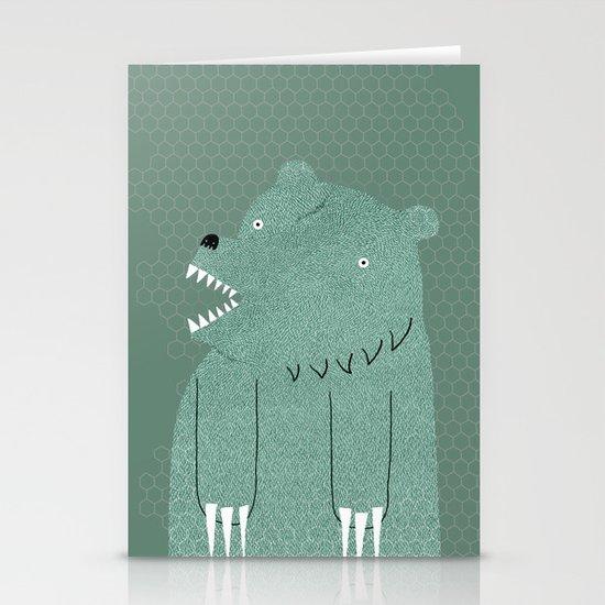 Friendly Bear Stationery Card