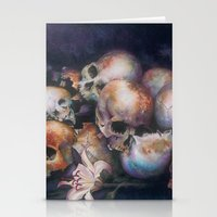 The Last Meeting, Skulls… Stationery Cards