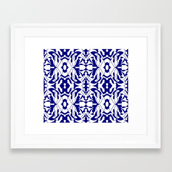 lacyFlowers Framed Art Print