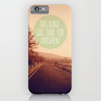 This Road Will Take You Anywhere iPhone 6 Slim Case