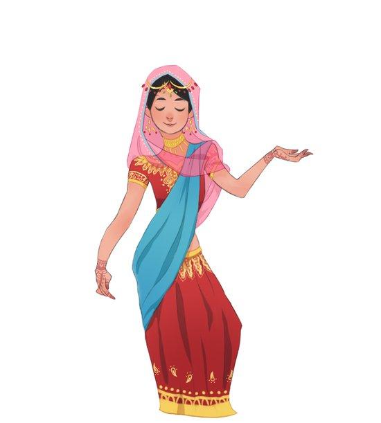 sarithisissocolorful Art Print