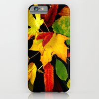 iPhone & iPod Case featuring Leaves Of My Neighborhood II by Jennifer L. Craft