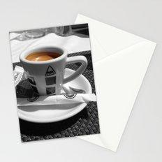 Coffee - espresso Stationery Cards