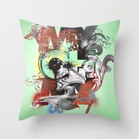 My Oh My Pt. II Throw Pillow