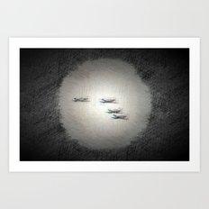 AirRaid Art Print