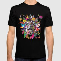 Phoebus Mens Fitted Tee Black SMALL
