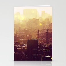 Sunset Over Cairo Stationery Cards