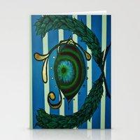 Eye, Greek Olive Stationery Cards