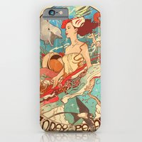 iPhone & iPod Case featuring Miss Earth by SPYKEEE
