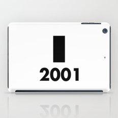 2001: A Minimalist Space Odyssey iPad Case
