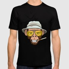 Monkey Business in Las Vegas SMALL Mens Fitted Tee Black