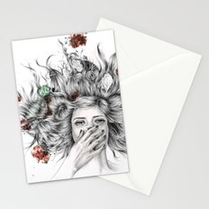 It Overflows Stationery Cards