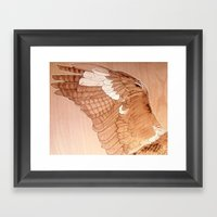 Little Wing Framed Art Print