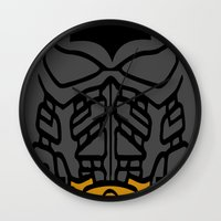The Lego Knight Rises Wall Clock