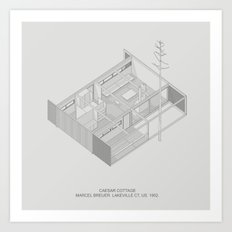 Marcel Breuer Caesar Cot… Art Print