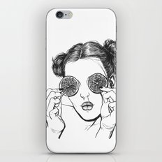 Lemon iPhone & iPod Skin