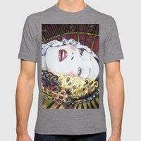 Porcelain Liberty Mens Fitted Tee Tri-Grey SMALL