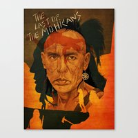 The last of the mohicans Canvas Print