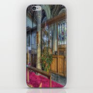 Church Christmas Tree iPhone & iPod Skin