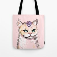 Josephine The Cat Tote Bag