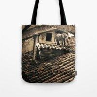 El Elefante De Mi Vecina Tote Bag