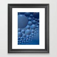 Blue moon. Framed Art Print