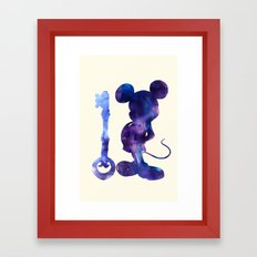The Key Framed Art Print