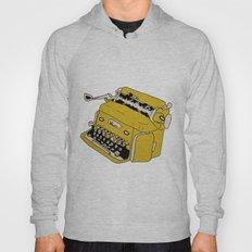 Grunge Typewriter Hoody