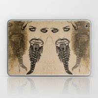 The Bearded Lady Olga  Laptop & iPad Skin