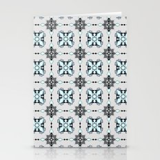 Icy Stars Stationery Cards