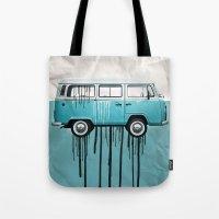 VW Kombi 2 Tone Paint Jo… Tote Bag