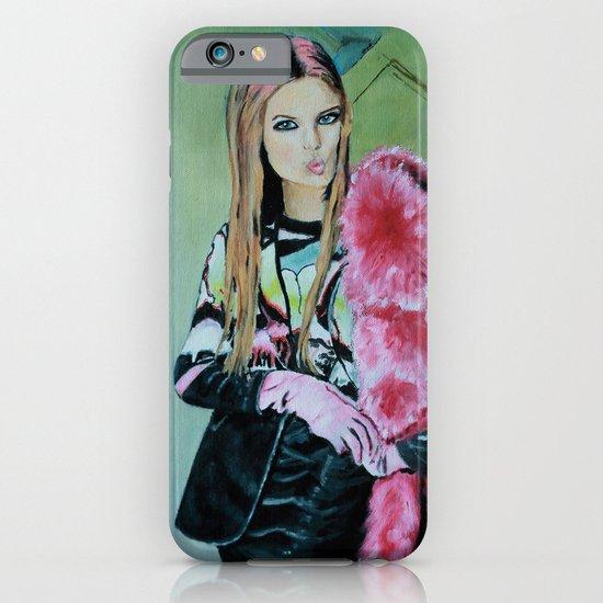 THE JPG GIRL iPhone & iPod Case