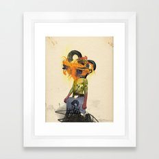 Mingadigm | See Me Framed Art Print