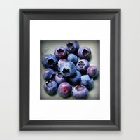 Blueberries - You Know Y… Framed Art Print