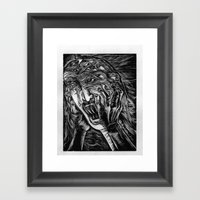 Aghhhh! Framed Art Print