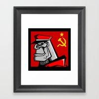 For Russia Framed Art Print