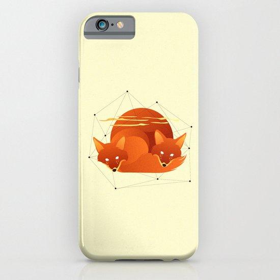Fiery Fox iPhone & iPod Case