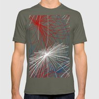 Fireworks 1 Mens Fitted Tee Lieutenant SMALL