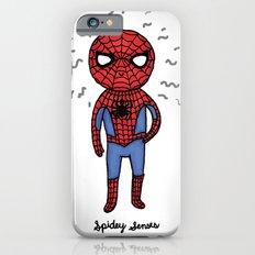 Super Cute Heroes: Spidey Senses iPhone 6 Slim Case