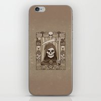 COWER BRIEF MORTALS iPhone & iPod Skin