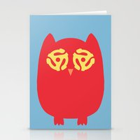 Owl 45s Stationery Cards
