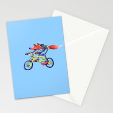 fox bike Stationery Cards