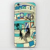 Coffee Bird iPhone & iPod Skin