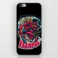 BEWARE THE KRAMPUS iPhone & iPod Skin