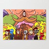 Clockmen Canvas Print
