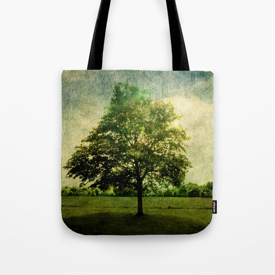 The Textured Tree  Tote Bag