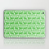 Folk Pattern Green Laptop & iPad Skin