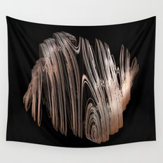 3D Fractal Coils Wall Tapestry