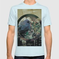 untitled Mens Fitted Tee Light Blue SMALL
