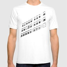 urbanism. SMALL Mens Fitted Tee White